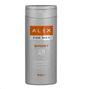 法國男性洗髮沐浴露Sport 250ml_Alex Sport Shower Gel and shampoo for Men